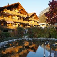 A luxurious apartment in a swiss chalet