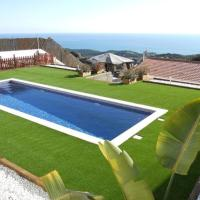 Sant Iscle de Vallalta Villa Sleeps 6 Pool