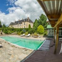 Saint-Martial-de-Valette Chateau Sleeps 10 Pool