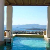 Paros Villa Sleeps 10 Pool