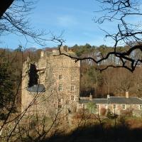 Neidpath Castle Cottage