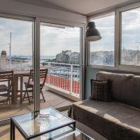 Piraeus Apartment with Endless View