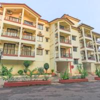 2 BHK with a pool and swim-up bar
