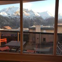 Appartement pied des pistes avec balcon & vue 6 personnes