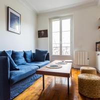 A typical parisian flat near La Villette!