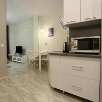 Уютная квартира-студия с элементами лофта