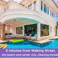 Walkingstreet Tewaree villa 4 bedrooms