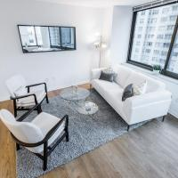 Spectacular 2 bed 2 bath in full service building