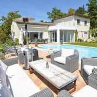 Biot Villa Sleeps 8 Pool Air Con WiFi