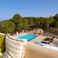 Cala Tarida Villa Sleeps 8 Pool Air Con WiFi