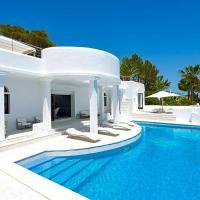 Es Cubells Villa Sleeps 10 Pool Air Con