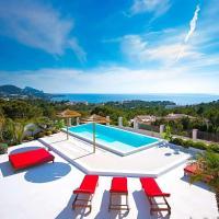 Cala Tarida Villa Sleeps 12 Pool Air Con WiFi