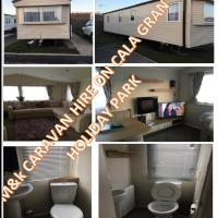 Family Friendly caravan hire cala gran