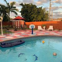 Entire house with pool near Mia airport