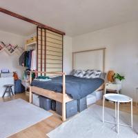 New! Very nice studio with balcony in Paris 20