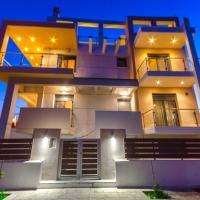 Luxury Beachfront Villa in Pefkakia-Volos