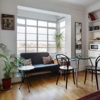Stylish 1Bed Studio Flat w/ Balcony, 7mins to Stn