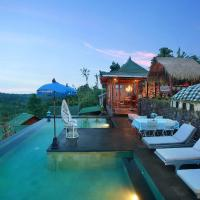 Rustic Waterfall Cabin Munduk Wanagiri with pool