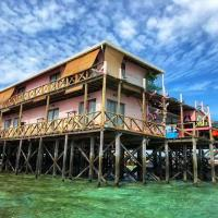 马来仙本那马布岛coco scubainn水上屋全海景感受深浮潜包餐中文房东客人的最佳选择