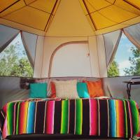 Glamping Tent next to Nature Reserve
