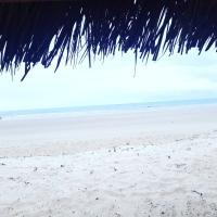 Casa beira mar pé na areia em alagoas