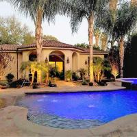 Stunning Tuscan Villa Mansion in Los Angeles Hills