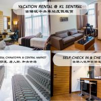 Hotel-style Apartment @ Dua Sentral near KL Sentral || happyholiday
