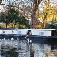 Idyllic Houseboat - Sleeps Six - One Day Cruise from London