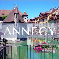 Bel appartement Annecy Chateau + vielle ville + lac