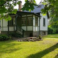 Mini-house with garden in Jurmala