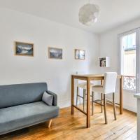 Large flat of 24m2 near Batignolles et Mont-Martre