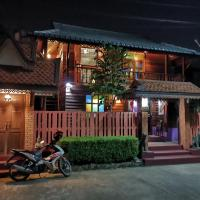 Chiang Mai Lanna style wood house