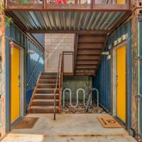 Trendy 1BR Cargo Container #B101 by WanderJaunt