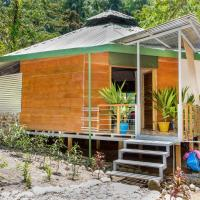 Rainforest, Riverfront Yurt with Pool and Waterfalls