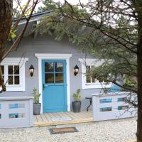 Inisean Lodge log cabin
