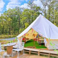 Hunter valley Glamping wonderwander campground caravan park