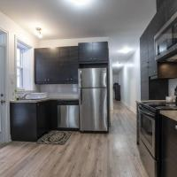 Renovated and spacious, 4 bedrooms 2 bathrooms one block from the subway