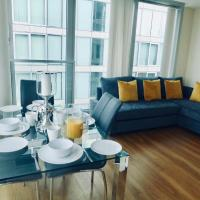 Vibrant City Stay in Central MK - 2 Bed 2 Bath Spacious Flat With a View