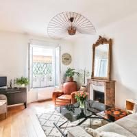Large and beautiful two-bedroom apartment near Porte Maillot