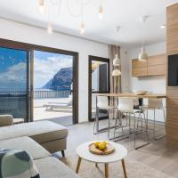 Los Gigantes Cliffs and Ocean view peaceful apartment