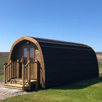 Camster luxury glamping pod