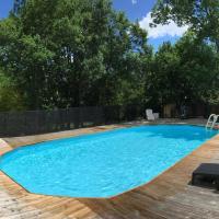 Maison 9 pers avec piscine privée sécurisée