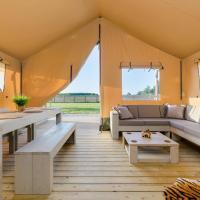 Leopard Safari Tent