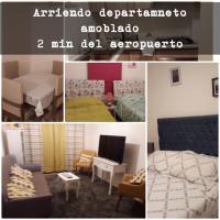 ARRIENDO DEPARTAMENTO AMOBLADO 6 PERSONAS - ECLIPSE 2019