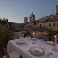 Sui tetti del centro di Genova
