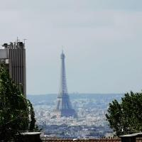 Paris charmant appartement famillial vue Tour Eiffel