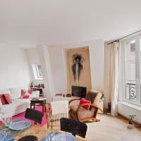 Lovely and Bright apt for 2 near Montmartre