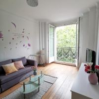 Apartment T4 near buttes-chaumont