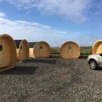 Framtid Camping Lodging Barrels