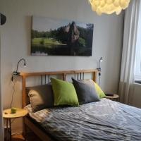 Green Apple Room - Zimmer mit Balkon